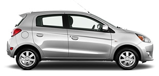 Rent a Mitsubishi Mirage