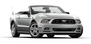 Rent a Ford Mustang Convertible