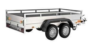 Rent a Remorque pour 4 roues 6'x12'
