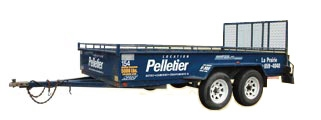 Rent a 4'x8' Utility Trailer