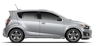 Chevrolet Sonic à louer