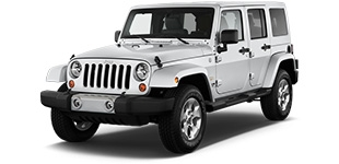 Jeep Wrangler à louer