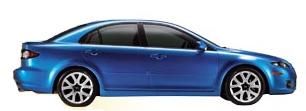 Mazda 6 à louer